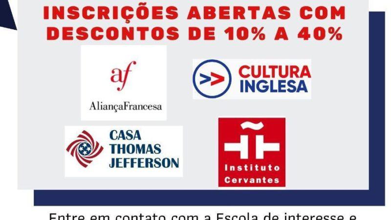 """Escolas de idiomas do DF disponibiliza cursos nas modalidades """"PRESENCIAL ONLINE"""" e """"EAD"""" para Servidores"""