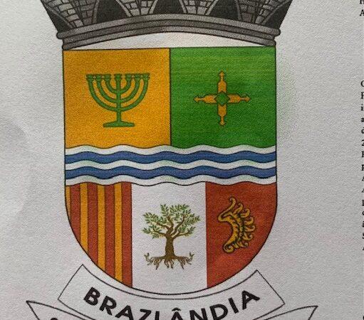 Brazlândia agora tem seu Brasão de Armas