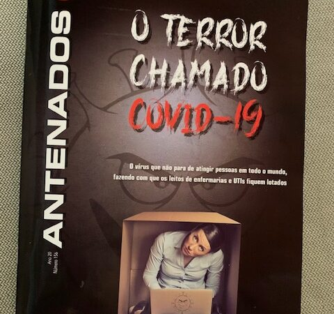 Revista Antenados traz neste mês matéria sobre o Blog do Candango