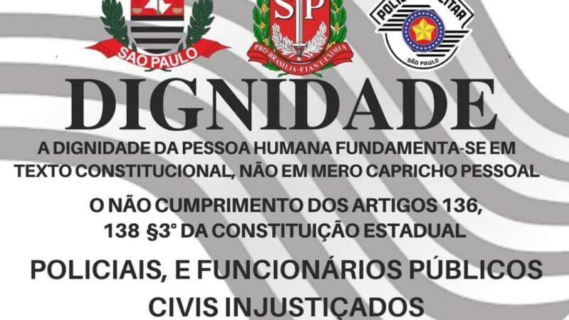 Grupo Policiais Para Sempre do Estado de São Paulo na luta pelos seus direitos