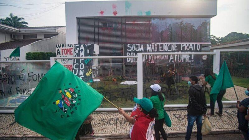Sede da Aprosoja em Brasília é invadida e depredada