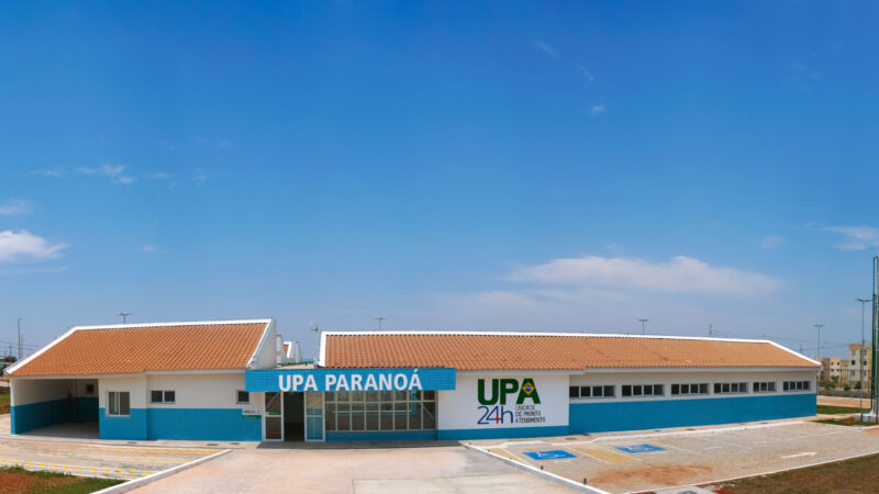 Governador inaugura UPA Paranoá nesta segunda (18)